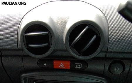 Proton Saga Air Conditioning Vents