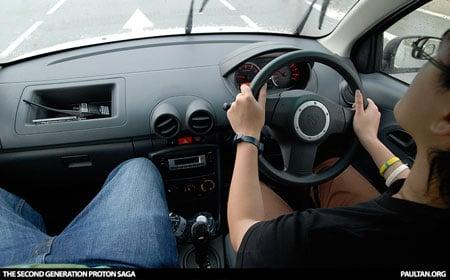 New Proton Saga - Dashboard