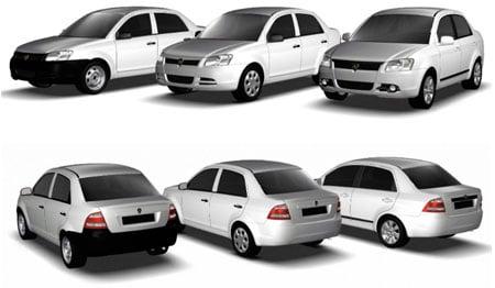 Proton Saga Lineup