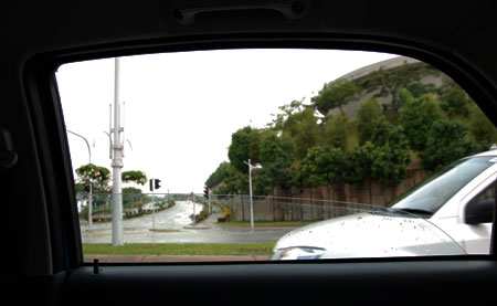 Proton Saga Rear Window