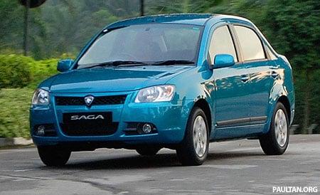 Proton Saga Photo