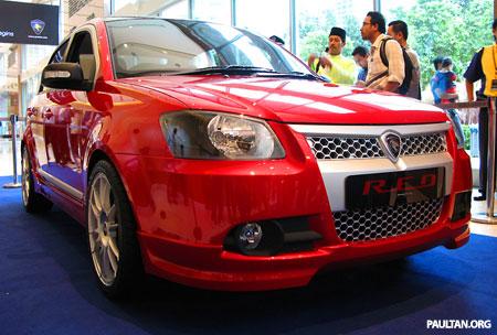 Proton Saga RED