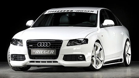audi a4 3 0 tdi tuned by rieger. Black Bedroom Furniture Sets. Home Design Ideas