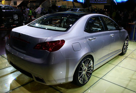 Roewe W2 Concept 5