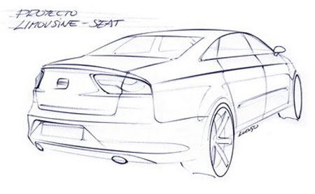 SEAT Bolero Sketch