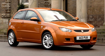 Proton Satria Neo in the UK
