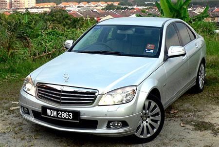 Mercedes-Benz C200K W204