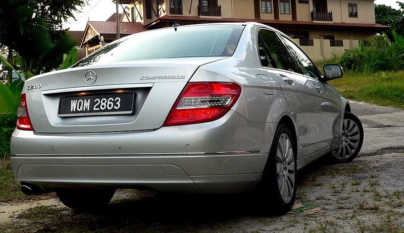 W204 Mercedes-Benz C200K Test Drive Review