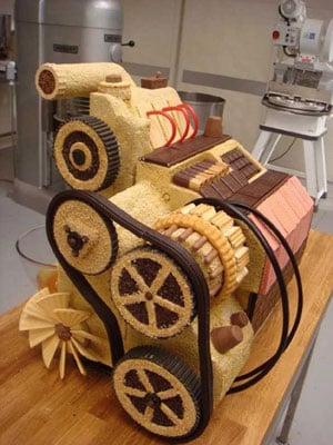 Skoda Fabia Cake Engine