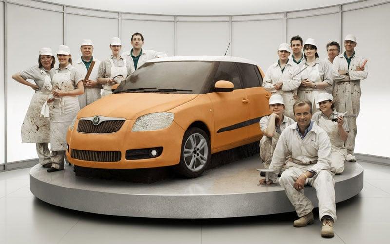 Skoda Cake Car Advert