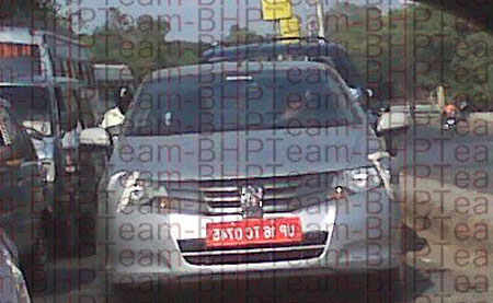 New Honda City Spyshot