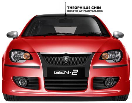 Theophilus Chin Proton GEN2 Facelift