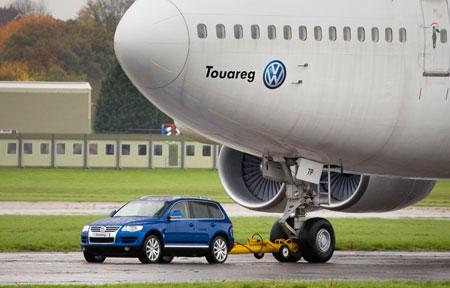 Volkswagen Touareg TDI Towing 747-200
