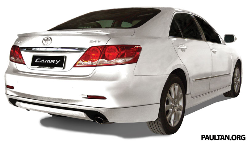Toyota Camry With Aerokit Available In Malaysia