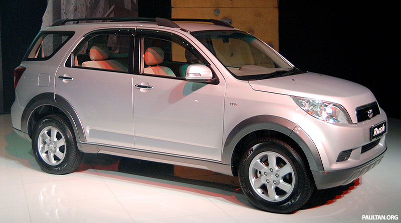 New 7 Seater Toyota Rush Suv Launched
