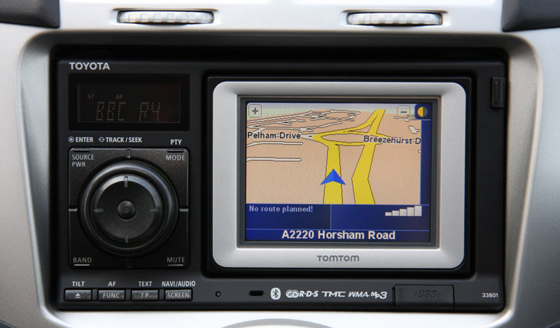 toyota uses tomtom for in car gps navigation. Black Bedroom Furniture Sets. Home Design Ideas