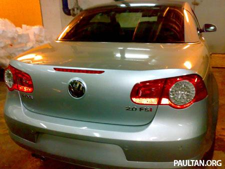 Volkswagen EOS Putrajaya