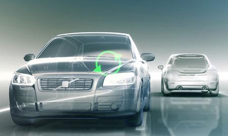 Volvo Collision Avoidance Auto Steering