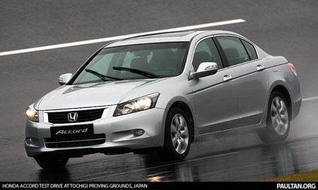 Honda Accord at Tochigi R&D