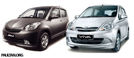 Myvi vs Viva Comparison