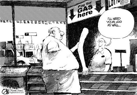 Fuel Price Joke