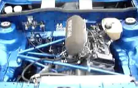 Golf Mk1 with turbocharged Hayabusa engine