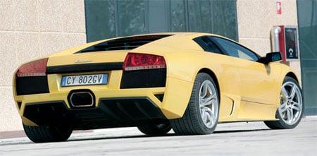 Around the lap in a Lamborghini Murcielago LP640