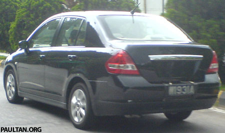 Nissan Latio Spyshot