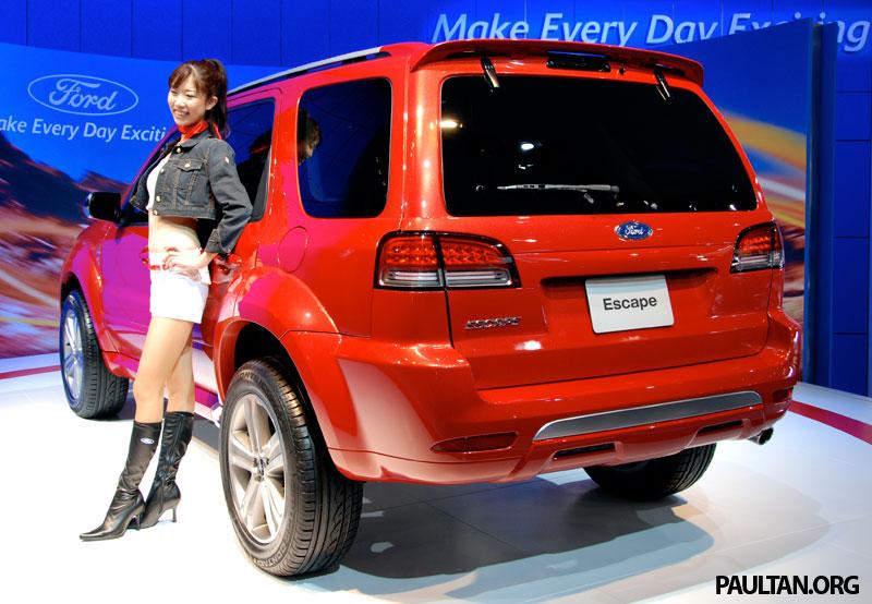 Tokyo 2007 Live Ford Escape Adventure Concept