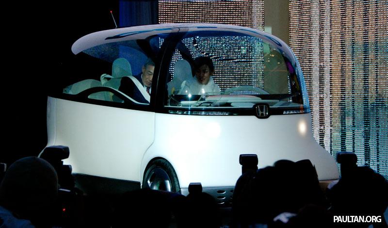 Tokyo 2007 Live Honda Puyo Concept