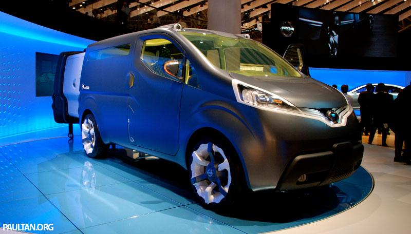 Tokyo 2007 Live Nissan Nv200 Concept