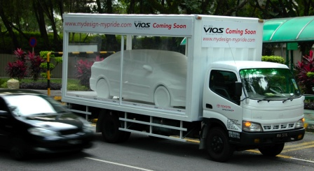 Toyota Vios truck