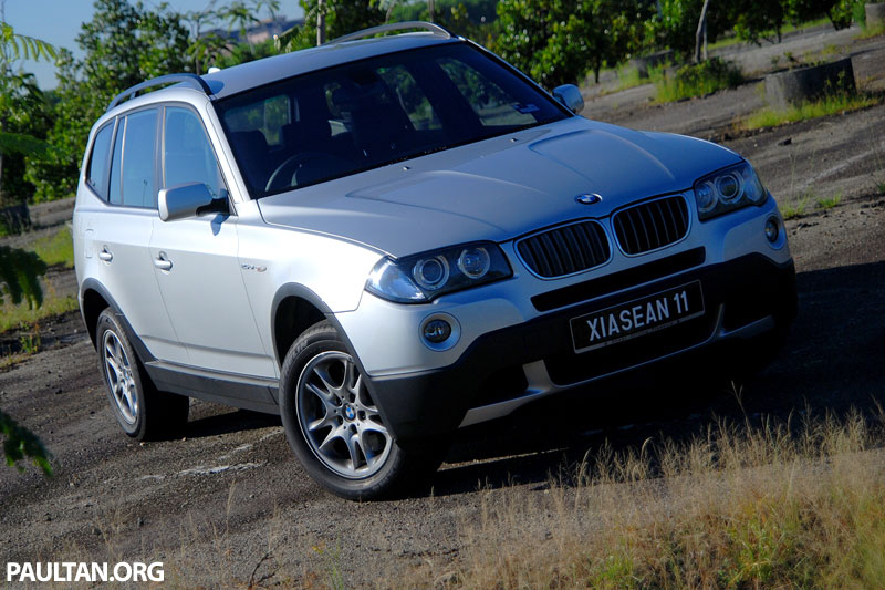 2007 bmw x3 facelift test drive review. Black Bedroom Furniture Sets. Home Design Ideas