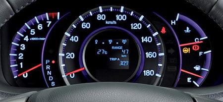 Honda Odyssey Meter