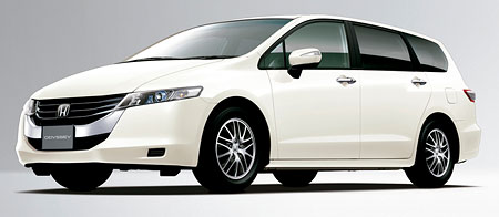 New 2009 Honda Odyssey Unveiled In Japan