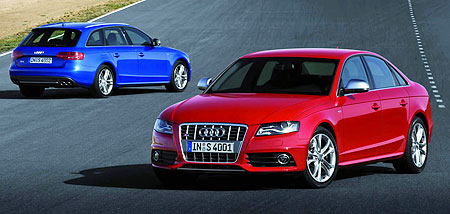 B8 Audi S4 Sedan And Avant Unveiled