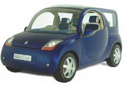 Blue Car Concept