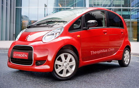 Citroen Electric Car