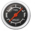 Fuel-Wallet Gauge