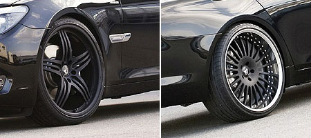 Hamann Wheels For The F01 Bmw 7 Series