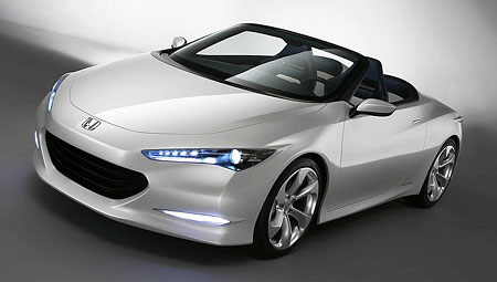 Honda OSM two-seater roadster concept