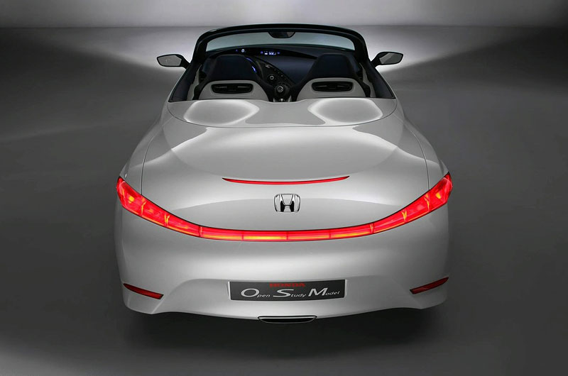 2006 Honda Accord For Sale >> Honda OSM two-seater roadster concept