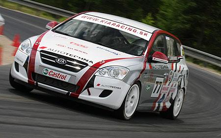 Kia ceed diesel race car
