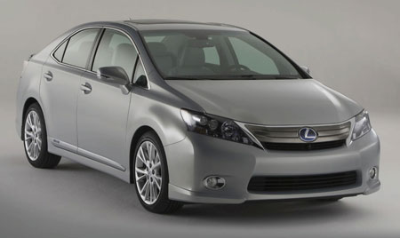 2010 Lexus Hs 250h Dedicated Hybrid With Camry Train Makes Production Debut