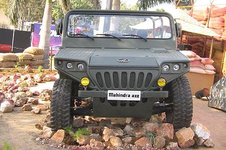 Mahindra Axe