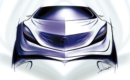 Mazda SUV Sketch