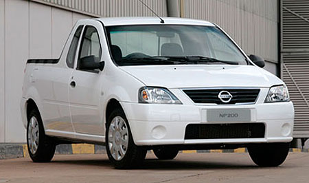nissan np200 ute based on dacia logan pick up. Black Bedroom Furniture Sets. Home Design Ideas