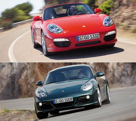 Porsche Boxster and Porsche Cayman