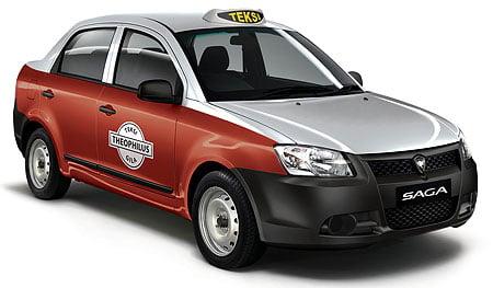 Proton Saga Taxi