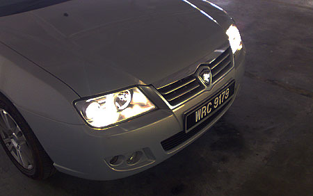 Proton Waja CPS Test Drive Review